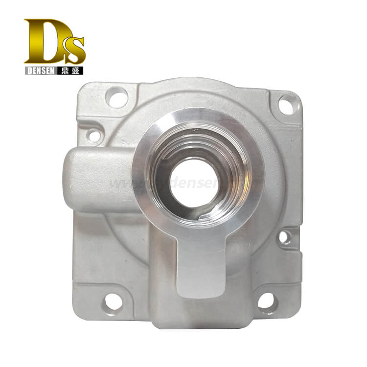 Densen Customized High quality aluminum gravity casting upper valve body for High-speed rail parts CNC machined parts