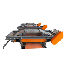 Densen Customized Cross belt magnetic separator with suspension permanent magnet for iron removing in ferrous metal recycling
