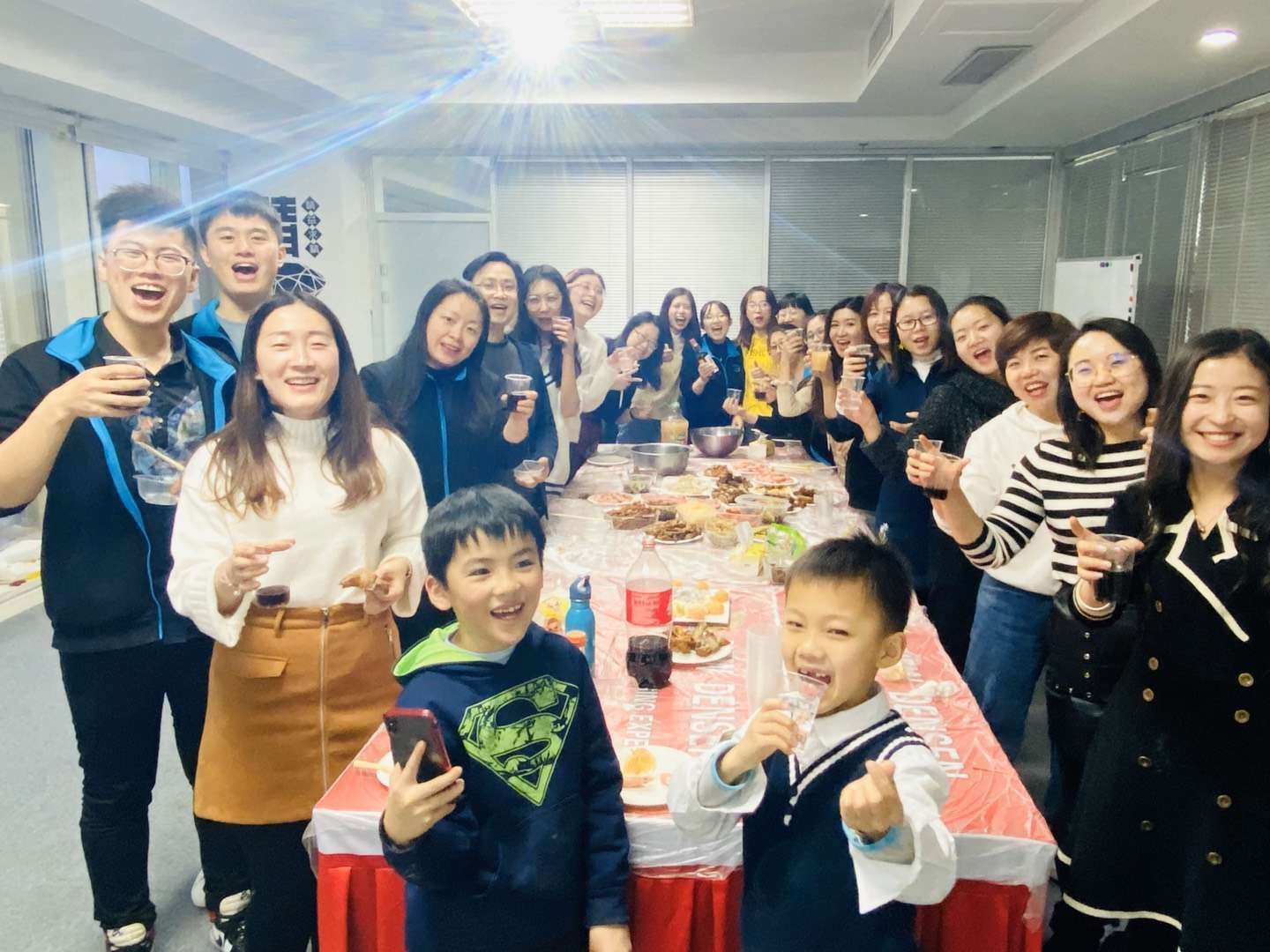 "Densen Group""Dumping Banquet""of New Year"