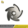 Custom forging impeller forged parts pump impellers
