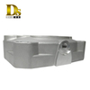 Densen Customized a356 aluminum gravity casting parts parking piston for High-speed rail accessories
