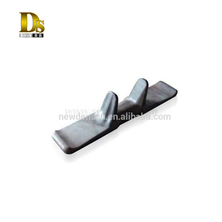 Precoated Sand Casting Ductile Iron Metal Insert for Crawler Excavator