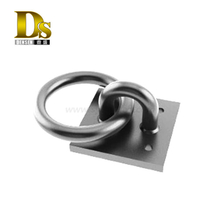 Densen Customized Carbon Steels Forgings Mooring Rings for Civil Engineering Fabricated