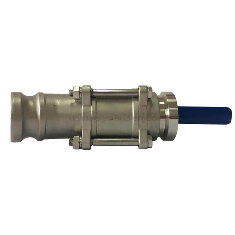 Customized Low Pressure Stainless Steel Investment Casting and machining Ball Valve for Valve Industrial