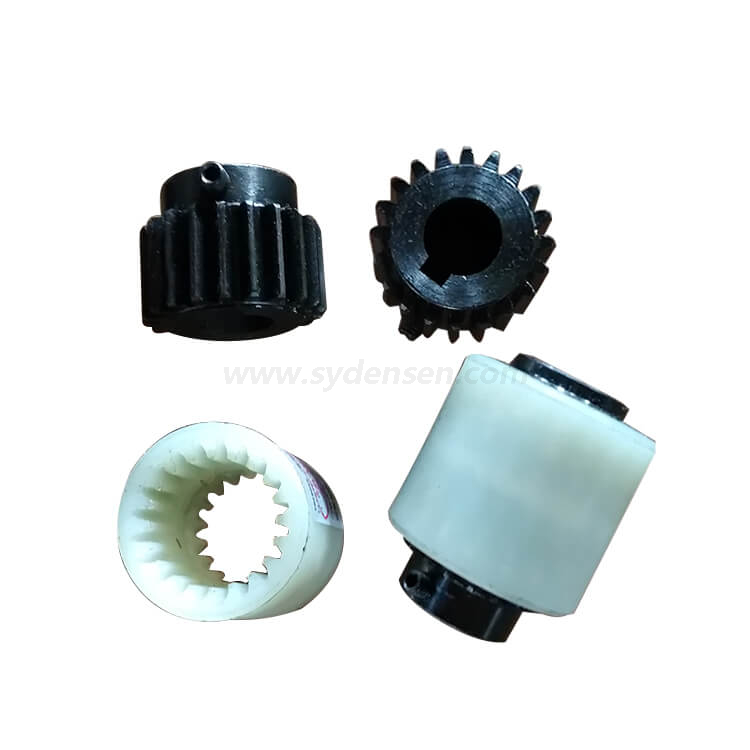 Densen customized gear coupling with nylon sleeve,nylon sleeve gear coupling,nylon coupling