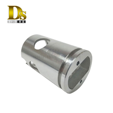 Densen Customized stainless steel CF3M A351 Silica sol investment casting and machining pipe fittings