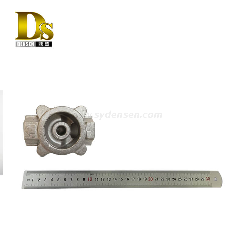 Densen Customized stainless steel 305 Silica sol investment casting Regulating valve