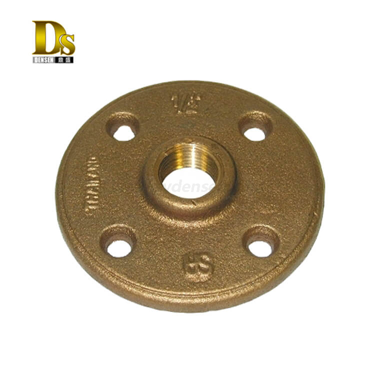 Densen customized Copper Brass Forging Flange,forged plate flange,forged titanium flange or flange nut or pipe fittings flange