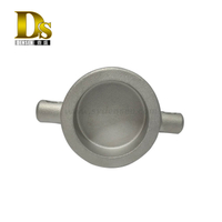 Densen Customized stainless steel 304 Silica sol investment casting valve cover, ball valve cover, China synergy casting