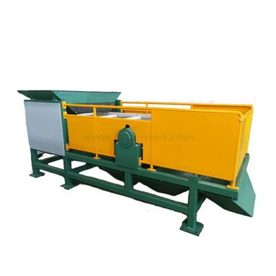 Densen customized PET bottles sorting machine China concentric eddy current separator for aluminum, iron and plastic bottles