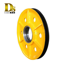 Densen customized factory price Trolley forging wheel of crane