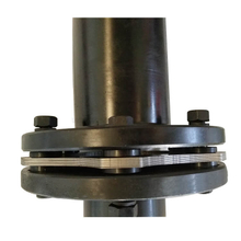 Densen customized JM170 flexible disc coupling,steel shaft couplings,carbon steel material coupling