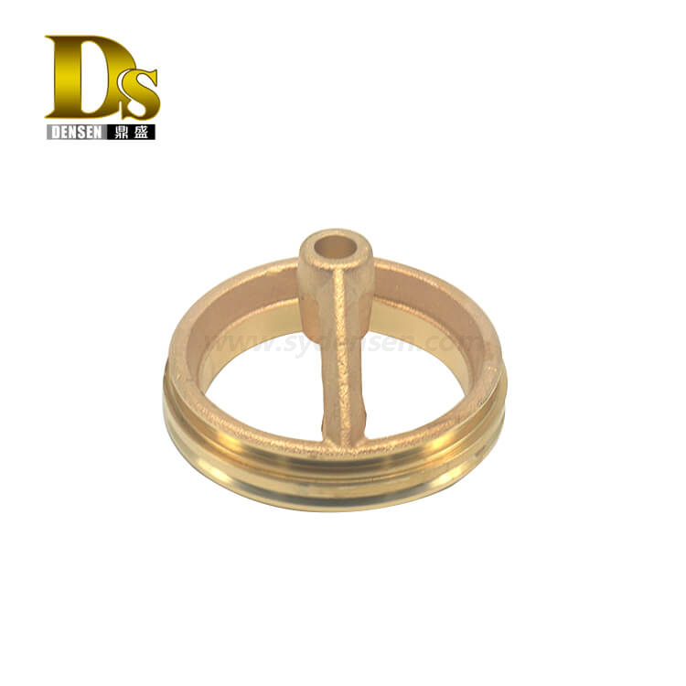 Densen Customized brass casting spare parts Accessories for trains and locomotive components