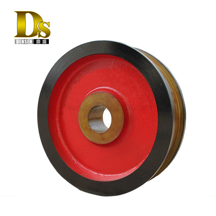 Densen customized Crane Forged Wheel forged wheels concave