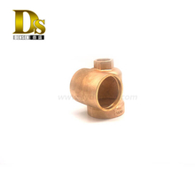 Densen Customized copper Gravity casting pressure casting and CNC machining casting parts for locomotive components
