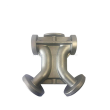 Proveedor china Densen customized stainless steel 304/316 Silica sol investment casting and machining water filter diverter