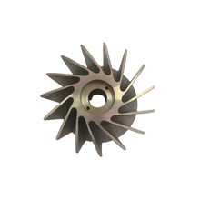 Densen Customized Lost Wax Steel Casting - OEM Open Impellers Water Pump Impeller
