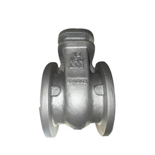 Densen customized high precision custom cast iron gate valve body for gas,butterfly valve body stainless steel casting