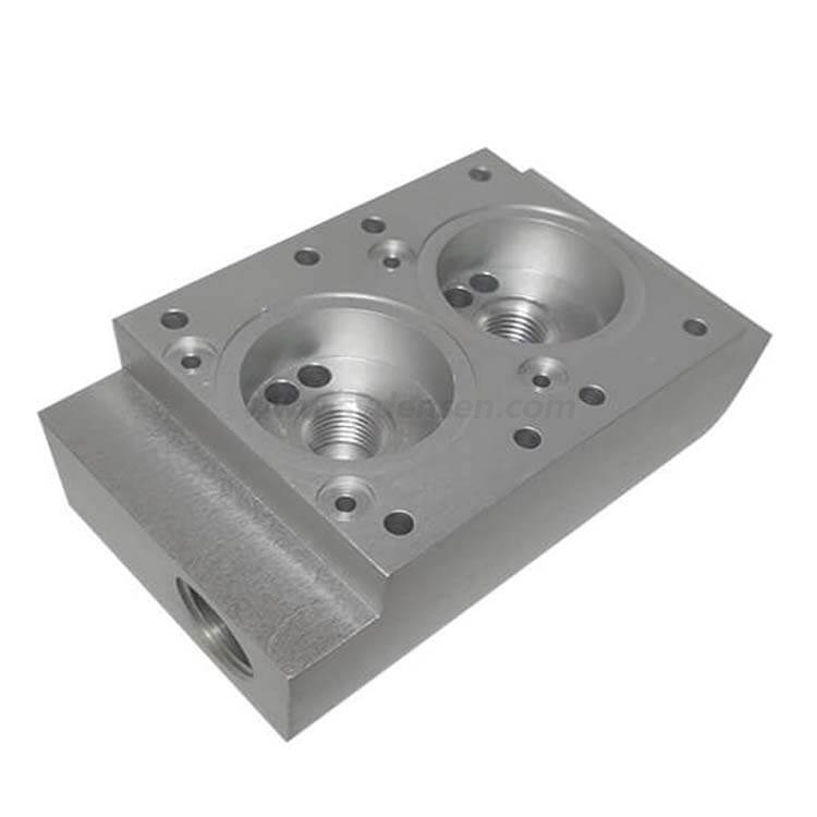 Densen customized casting iron and alumnim valve body for flow industry valve