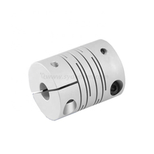 Densen customized beam clamp coupling aluminium clamp type helical beam flexible couplings