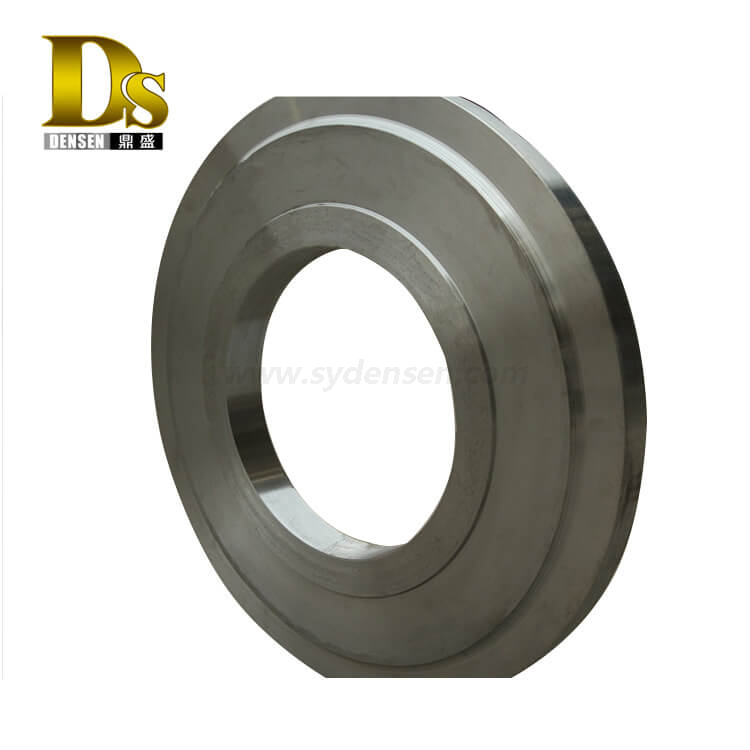 Densen customized machining open die forging press, steel alloy stainless steel steel forging parts ,hot forging steel ring